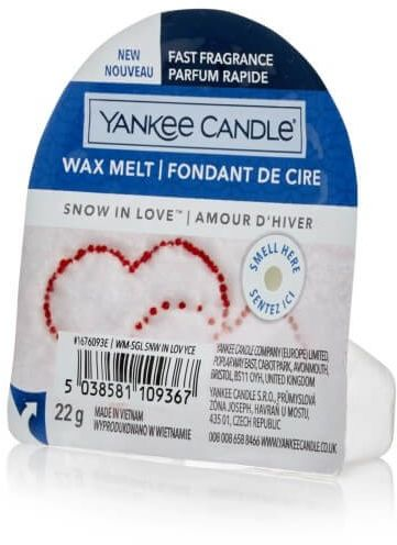 Snow in Love Wosk Yankee Candle