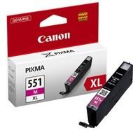 Oryginał Tusz Canon CLI551MXL do iP-7250, MG-5450/6350 11ml magenta